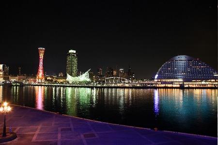 神戸港の夜景 (450x300)